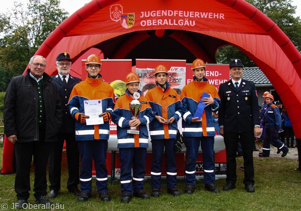 Engagement und Können der Jugendfeuerwehren im Landkreis Oberallgäu beindrucken
