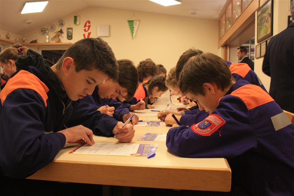 Jugendgruppen des Inspektionsbereichs Jura beweisen ihr Können