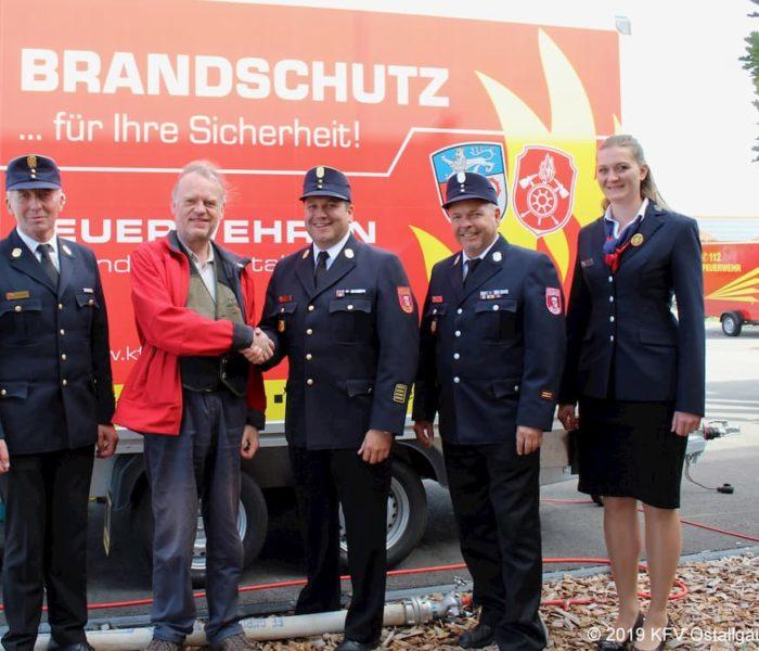 Förderung der Brandschutzerziehung